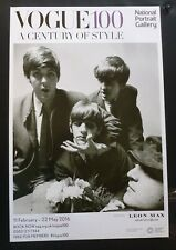 THE BEATLES A century of style   2016 ART EXHIBITION POSTER
