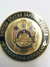 United States Capitol Police 2009 Inauguration Challenge Coin