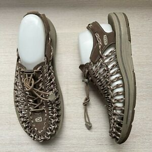 KEEN Uneek Adjustable Braided Cord Sandals Men's US 8.5
