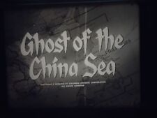 16 mm  Ghost of the China Sea  David Brian 1958 Lynette Bernay Norman Wright