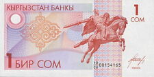 Kirgistan / Kirgisistan / Kyrgyzstan 1 Som (1993) Pick 4 (1)