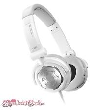 Denon DJ DN-HP500S | Full-Size On-Ear Dynamic DJ Headphones - White