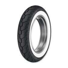 DUNLOP D402 MU85B-16 M/C 77H, WIDE WHITEWALL REAR