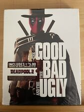 The Good, the Bad, and the Ugly Blu-ray Sealed W/ Deadpool Photobomb Slipcover