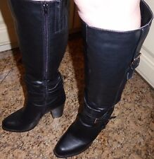 Sexy High Heel Damen Stiefel Sehr hoher Absatz Schwarz GR 41 # wie Neu