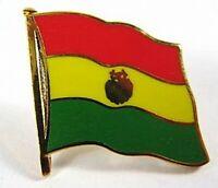 Bolivia Banderas Alfiler Pin, 1,5 cm, Nuevo con Cierre de Presión