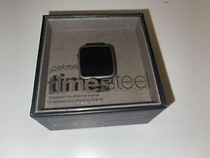Pebble Time Steel - neu und originalverpackt - Sammlerstück