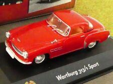 1/43 Atlas DDR Auto Kollektion Wartburg 313/ Sport rot 7230 021