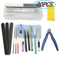 Professional Gundam Model Tools Kit Modeler Basic Craft Set Hobby Building 20pcs