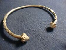 Old Pawn Chunky Bracelet Asia Estate 925 Sterling Silver