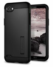 Spigen LG Q6 Case Slim Armor Black