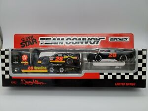 1993 Davey Allison Matchbox Super Star Team Convoy Limited Edition Set