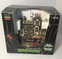 Lemax Spooky Town Dr. Tingle's Laboratory Halloween Vilaage Piece