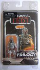 """Colección Trilogía de la guerra de las Galaxias """"original"""" Boba Fett-tarjeta de estilo vintage-como Nuevo"""