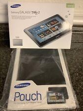 Samsung Galaxy Tab 2 (10.1-Inch, Wi-Fi) 16GB + Free Samsung Pouch NEW IN BOX