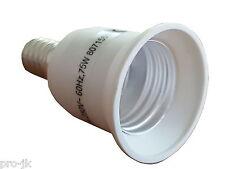 Adaptateur culot / douille E14 vers E27 - Convertisseur / Transformateur ampoule