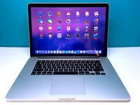 Apple MacBook Pro 15 RETINA Laptop / QUAD CORE i7 / 16GB RAM 500GB SSD / MacOS