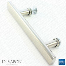 Di Vapor (R) 130mm Shower Door Handle | 13cm Hole to Hole | Stainless Steel