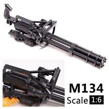 1/6 Scale M134 Minigun Six-Barrel Gatling Gun for 12'' Action figures