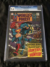 DC Comics 1968 World's Finest Comics #181 CGC 9.6 NEAR MINT+