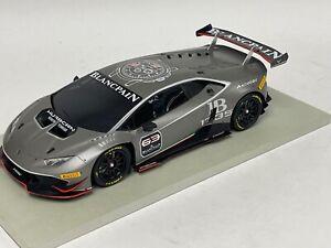 1/18  Lamborghini Huracan Super Trofeo #63 Presentation Matte Gray BBR or MR.