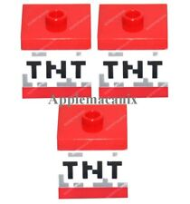 NEW LEGO Minecraft (3) TNT DYNAMITE Blocks 21113 21116 21118 The Cave Mine Box