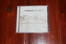 Live 2003 [Limited Edition] by Coldplay (CD, Jun-2013, EMI)