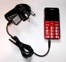 Cargador de red para LifeLine/línea de la vida 925045 A111 grande dígitos Botón Teléfono Móvil
