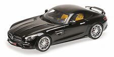 Brabus 600 Auf Basis Mercedes Benz Amg Gt S 2015 Black 1:18 Model MINICHAMPS