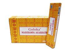8 boxes Hem Satya Nag Champa Sampler-Goloka Aastra Trishaa Incense Sticks 176g!