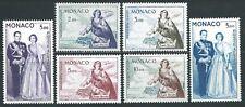 Monaco - 1960 - Ste Dévote et couple princier  - PA 73 à 78  - Neuf** - MNH