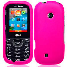 For LG Cosmos Touch VN270 Protector Hard Case Cover GLOSSY Shocking Pink