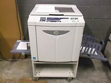 Riso EZ221 High Speed Digital Duplicator NETWORKED & MAKING EXCELLENT PRINTS