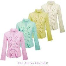 Lace Collar Shirt Dresses for Women