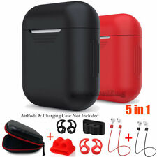 AirPods Silicone Case Protective Cover Skin&Accessories For AirPod Charging Case
