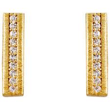 Gorjana Nia Shimmer Bar Stud Earrings Gold 19600302G