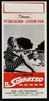Plakat Die Überholen Dino Risi Vittorio Gassman Tritignant Spaak Gora Links N46