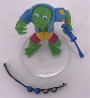 Vintage 1989 Teenage Mutant Ninja Turtles Complete playmates TMNT Genghis Frog
