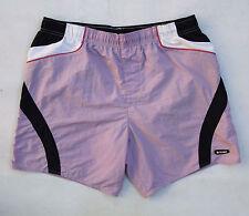 Traje de baño de natación colmar Pantalones Cortos Violeta Azul Casuals Nylon Talla 52 W36 Super!