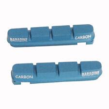 Brake Pads Bicycle V Brake Road Bike Brake Pad Carbon Fiber Pad Baradine Blue
