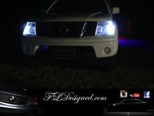 Bright White Nissan Navara D40 Pathfinder L.E.D Parker Light Bulbs