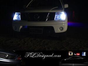 Bright White Nissan Navara D40 Pathfinder L.E.D Parker Light Bulbs