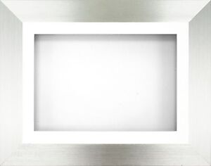 Metallic Champagne Effect Photo Picture Frame with Black Mount Choose size