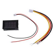 Pannello Voltmetro Amperometro Digitale Misuratore LCD DC 100V 100A 4 Cifr T5I7