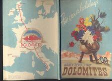 South-Tyrol Dolomites Italy Ente Provinciale Turismo Bolzano Guida Dolomiti R