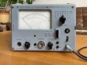 """Rohde und Schwarz """"UHF-DC Millivoltmeter BN 10913""""  mit Tastkopf -Sammlerstück"""