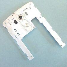 100% LG G3 arrière verre de caméra blanc+arrière châssis+contrôle boutons D855