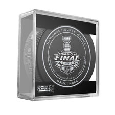 2016 NHL Penguins v Sharks Stanley Cup Final Game 3 On-Ice Hockey Puck W/Cube