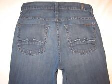 7 For all Mankind Mens Austyn Jeans Sz 28 X 26 Relaxed Straight Leg 100% Cotton