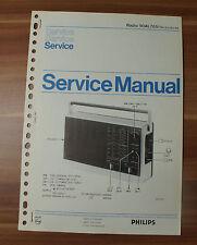 Radio 90AL765 Philips Service Manual Serviceanleitung
